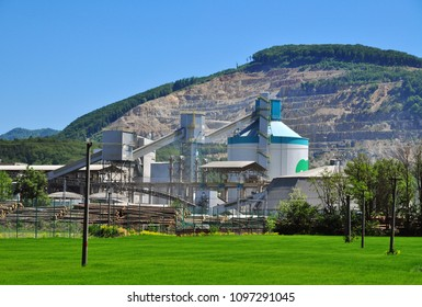 Mining factory cement production