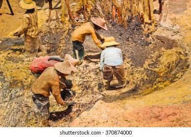 The mining model