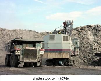 Mining operations, Charleston, WV
