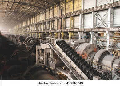 Mining Processing Plant view inside