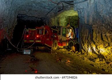 mining  underground