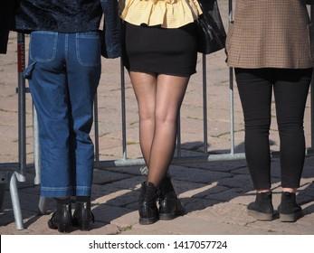 And miniskirt pantyhose Mini Skirt