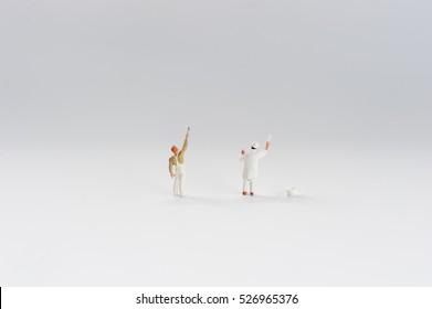 miniture painting