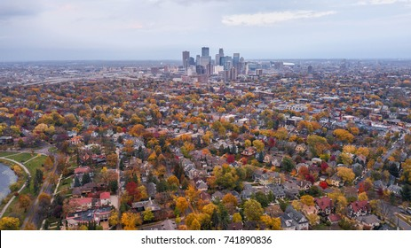 Minneapolis Autumn Skyline