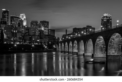 Minneapolis in Black and White