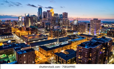 Minneapolis Cityscape - Dusk