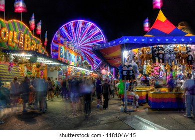 Minneapolis, Minnesota, USA 8-24-18 The Minnesota State Fair is a Major Attraction in the Twin Cities