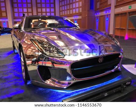 Minneapolis MNUSA March Chrome Stock Photo Edit Now - Minneapolis car show