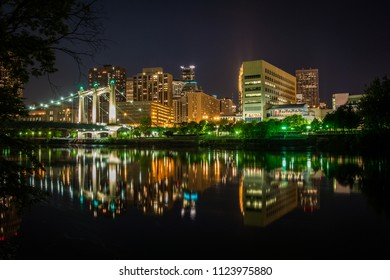 Minneapolis river reflections