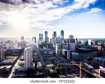 Minneapolis from the sky