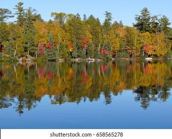 Minnesota Fall Lake Reflections