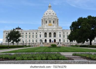 Minnesota State Capitol in St Paul, Minnesota