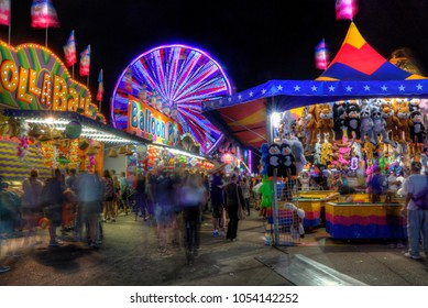 The Minnesota State fair is the largest gathering in Minnesota and millions of people attend during the two weed period.