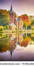 Minnewaterpark - Brugges, Belgium