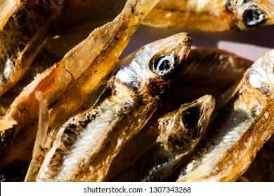 Minnow fish crispy