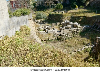Minoan House in Archanes belongs to a larger settlement of the Minoans, a summer residence for the minoan king from Heraklion