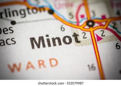 Minot. North Dakota. USA