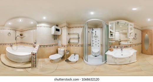 360 Degree Bathroom Images Stock Photos Vectors Shutterstock