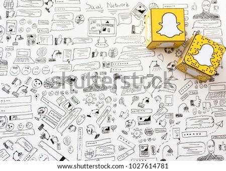 site de branchement snapchat