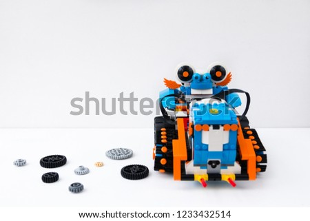 Minsk Belarus November 2017 Robotics Lego Stock Photo Edit Now