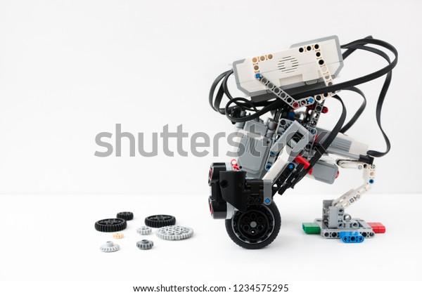 Minsk Belarus November 2018 Girobot Lego Stock Photo (Edit Now