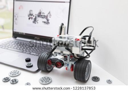 Minsk Belarus November 2018 Robotic Car Stock Photo Edit Now