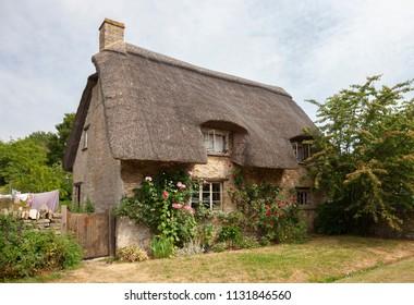Minster Lovell village, Cotswolds, Oxfordshire, England