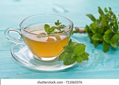 Mint tea. Mint