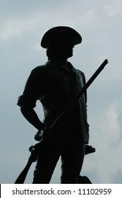 Minuteman soldier
