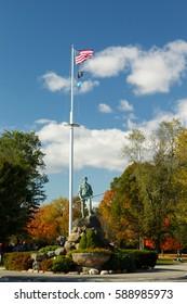 Minuteman Statue of Lexington Massachusetts, US