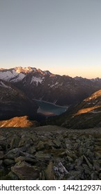 Minutes before Sunrise in the Alps