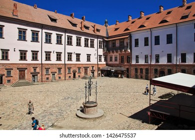 Mir, Belarus - 11 Jun 2015.Mir Castle in Belarus country