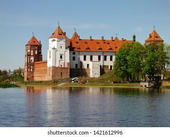 The Mir Castle Complex. Mir. Belarus.