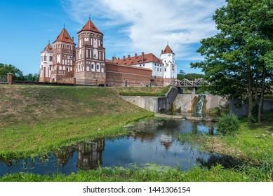 Mir Castle Complex in Belarus - Shutterstock ID 1441306154