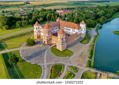 Mir Castle Complex, aUNESCOWorld Heritage siteinBelarus. - Shutterstock ID 1550271323