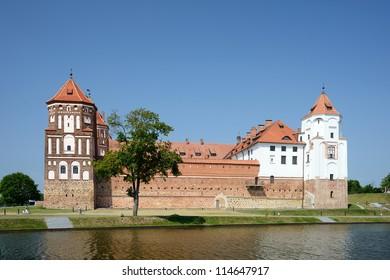 Mir Castle, Grodnednsky region, Belarus
