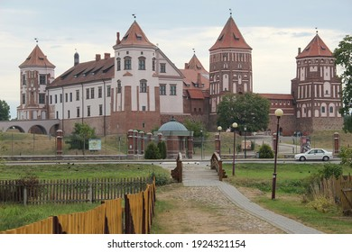 Mir Castle a UNESCO World Heritage site in Mir, Belarus - Shutterstock ID 1924321154