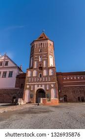 Mir Medieval Ancient Castle, Mir, Belarus