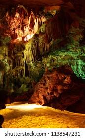 Mira de Aire, Portugal, 14/02/2010 - Caves Mira de Aire Interior view.