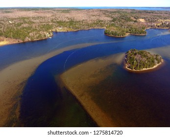 Mira River in Cape Breton