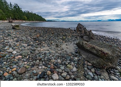Miracle beach is a provincial park just north of Courtenay.