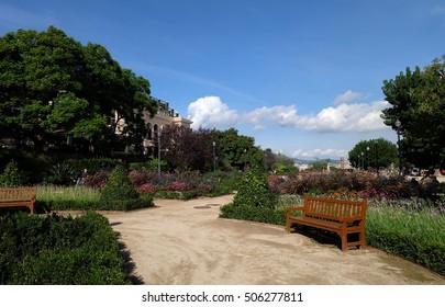 Mirador del Poble Sec, Parc de Montjuic Barcelona, Catalunya/Spain