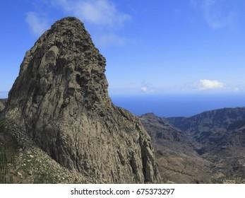 Mirador Roque de Agando, La Gomera.