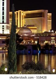 Mirage and Bellagio reflecting pool, Las Vegas