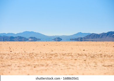 Mirage in the Death Valley, California