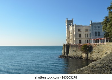 Miramare Castle - Trieste - Italy - Commissioned in the second half of the 19th century by the Archduke Ferdinand Maximilian of Hapsburg as a residence for himself and his wife, Charlotte of Belgium