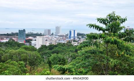 Miri, Borneo. Malaysia.