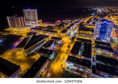 Miri City View at Night