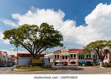 Miri, Sarawak, Malaysia - December 5 2018: Miri Chinese Chamber of Commerce