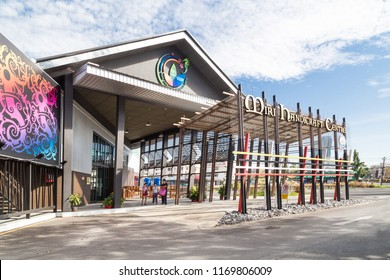 MIRI, SARAWAK, September 1st, 2018: Miri Handicraft Center promotes Sarawak indigenous ethnic arts and craft to tourist